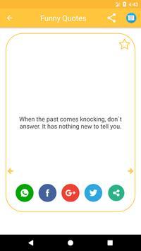 Funny Quotes 2018 apk screenshot