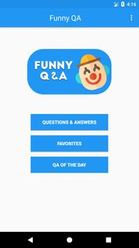 Funny QA - Questions & Answers 2018 poster