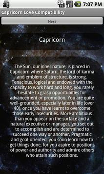 Capricorn Love Compatibility poster