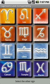 Capricorn Love Compatibility apk screenshot