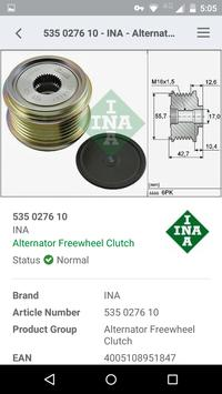 Schaeffler Parts Search screenshot 4