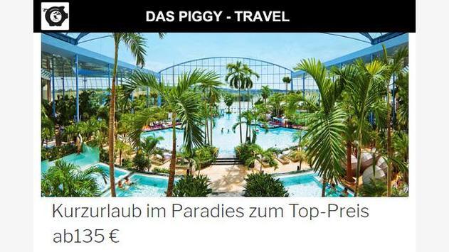 Das Piggy - Travelling poster