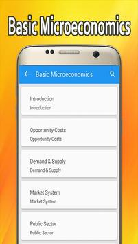 Learn Basic Microeconomics poster