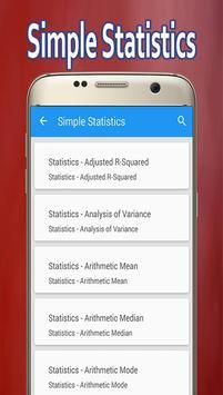 Simple Statistics poster