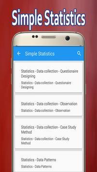 Simple Statistics screenshot 1