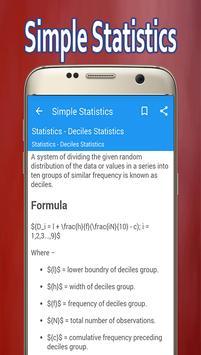 Simple Statistics screenshot 2