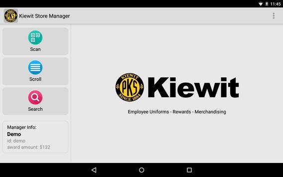 Kiewit Store Manager screenshot 3