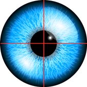 (Prank) Iris eye scanner icon