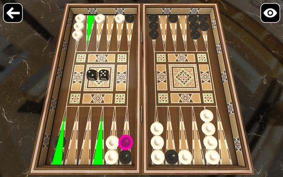 Original Backgammon screenshot 1