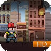 Amazing hero escape jumper icon