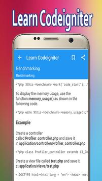 Learn Codeigniter poster