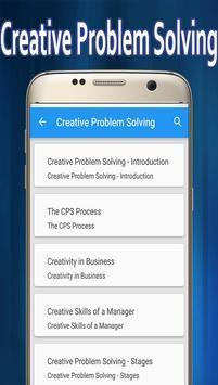 Creative Problem Solving poster
