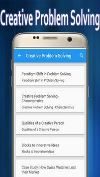 Creative Problem Solving screenshot 1