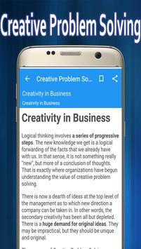 Creative Problem Solving screenshot 3