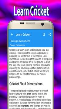 Learn Cricket screenshot 3