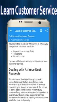 Learn Customer Service screenshot 2