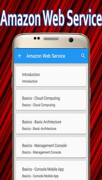Learn Amazon Web Service poster