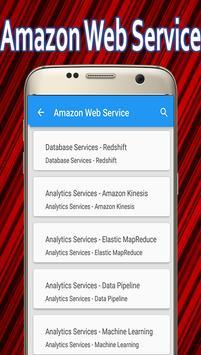 Learn Amazon Web Service apk screenshot