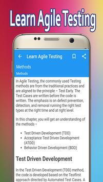 Learn Agile Testing screenshot 2