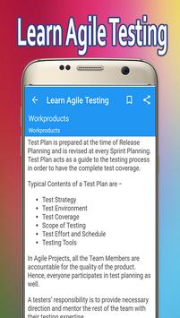 Learn Agile Testing screenshot 3