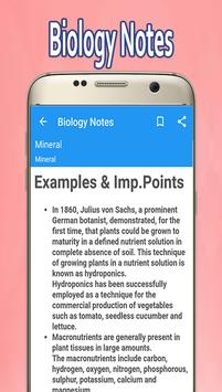 Biology Notes screenshot 3