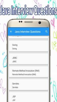 Interview Questions for Java apk screenshot