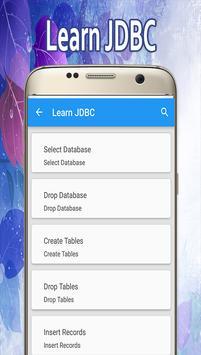 Learn JDBC screenshot 1