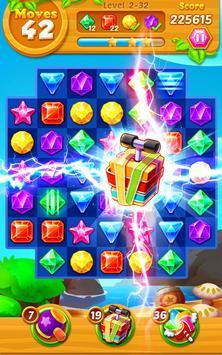 Jewels Crush- Match 3 Puzzle apk screenshot