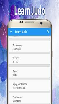 Learn Judo apk screenshot