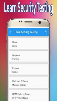 Learn Security Testing screenshot 2
