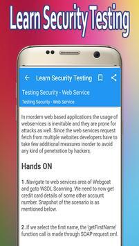 Learn Security Testing screenshot 3