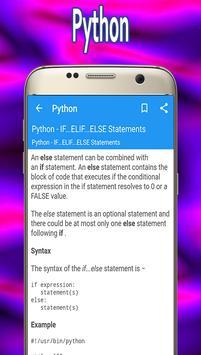 Python Guide screenshot 1