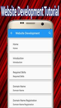 Website Development Tutorial poster