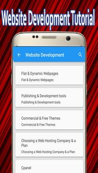 Website Development Tutorial screenshot 1