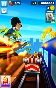Subway multiplayer : rush endless surf 3D PLUS screenshot 4