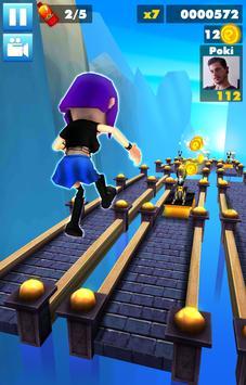 Subway multiplayer : rush endless surf 3D PLUS screenshot 5