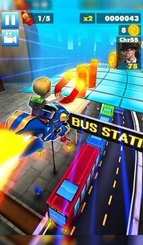 Subway multiplayer : rush endless surf 3D PLUS screenshot 9
