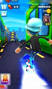 Subway multiplayer : rush endless surf 3D PLUS screenshot 13