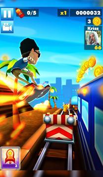 Subway multiplayer : rush endless surf 3D PLUS screenshot 16