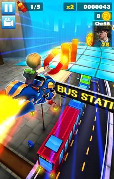 Subway multiplayer : rush endless surf 3D PLUS screenshot 1