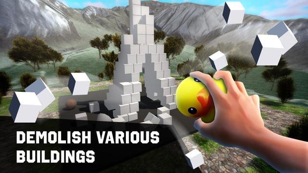 Cube Buildings - Destroy The City screenshot 4