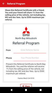 North Bay Mitsubishi apk screenshot
