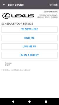 Newport Lexus Dealer App screenshot 3