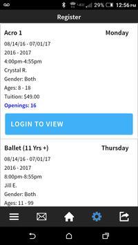 Momentum Dance Academy apk screenshot
