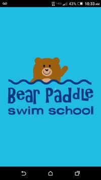 Bear Paddle Swim School poster