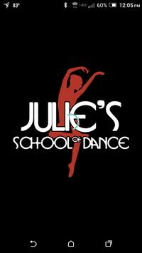 Julie's School of Dance poster
