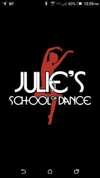Julie's School of Dance poster