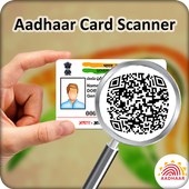 Instant Scan Aadhar Card icon