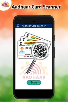 Instant Scan Aadhar Card poster