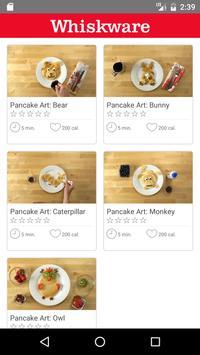 Whiskware Pancake Art poster